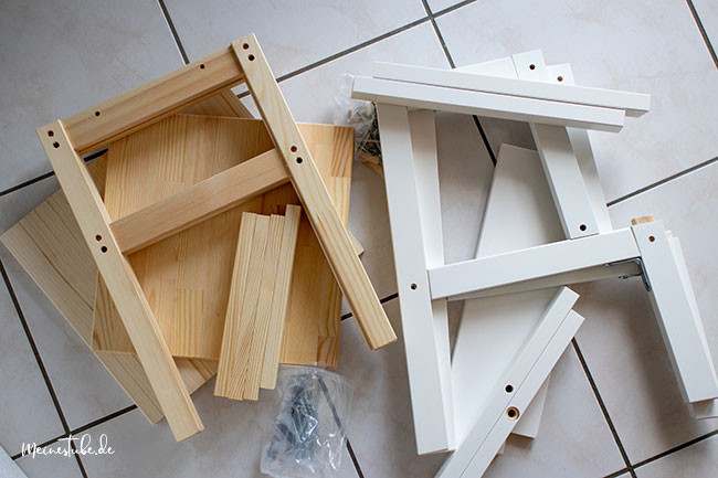 Zwei Hocker von Ikea, meinestube