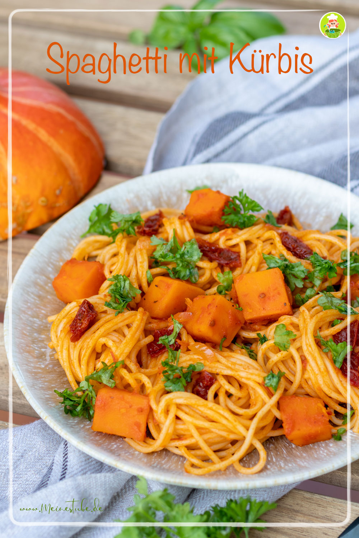 Spaghetti mit Kürbis, meinestube