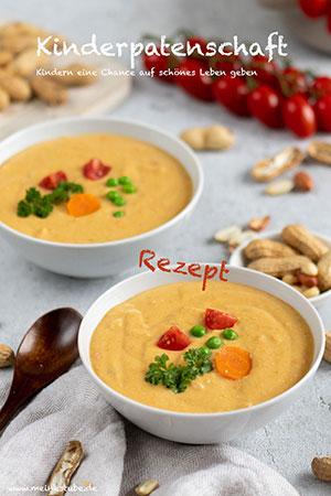 Kinderpatenschaft und Erdnusssuppe, meinestube