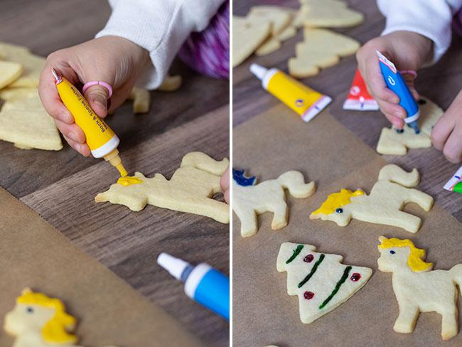 Butterplätzchen Kekse ausstechen macht Kindern Spaß, meinestube