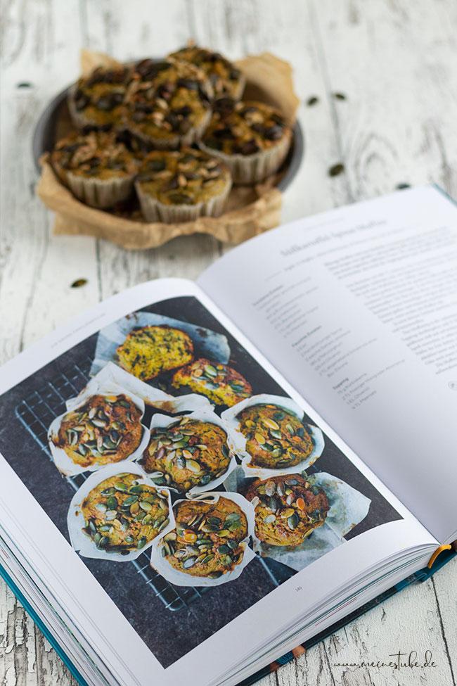 Kochbuch zu gewinnen, Süßkartoffel-Spinat-Muffins, meinestube