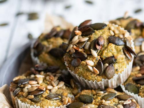 Süßkartoffel-Spinat-Muffins, meinestube