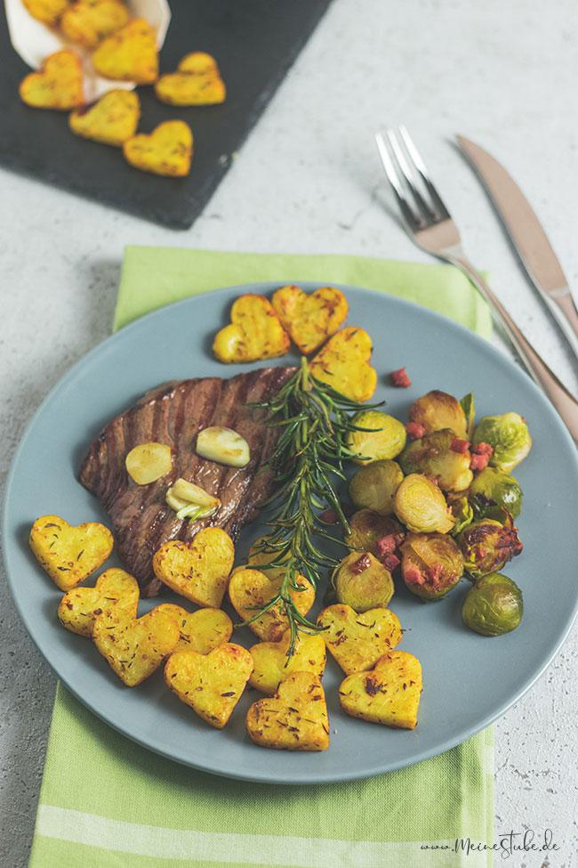Rezept für Kartoffelherzen zum Valentinstag, Meinestube