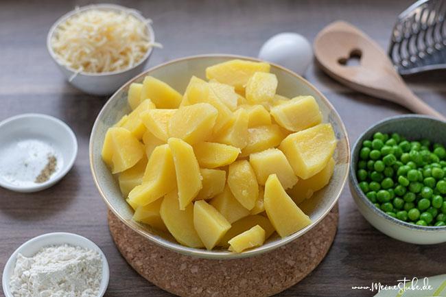 Gedaempfte Kartoffeln, Meinestube