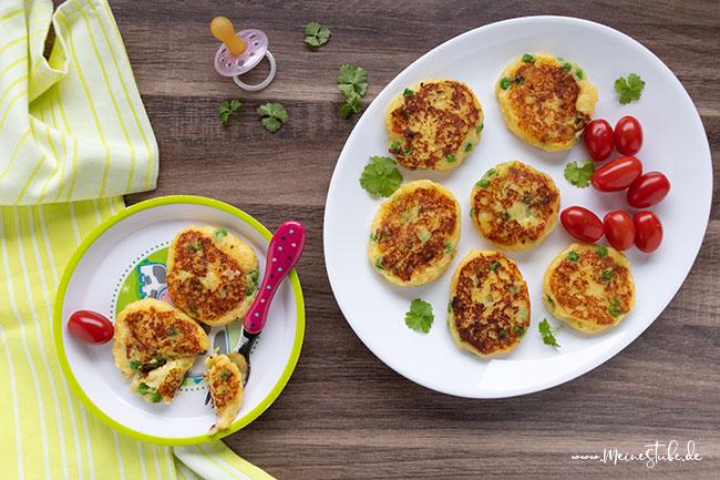 Kartoffeltaler für Kind und Mama, meinestube