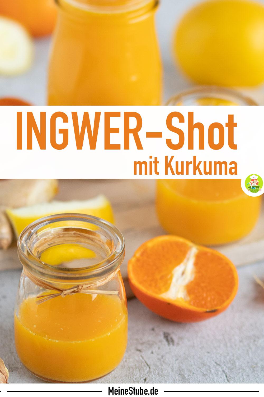 Rezept Ingwer-Shot mit Kurkuma von meinestube
