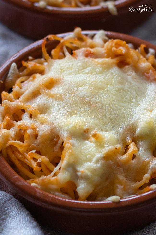 Spaghetti-Auflauf mit verstecktem Gemüse von meinestube