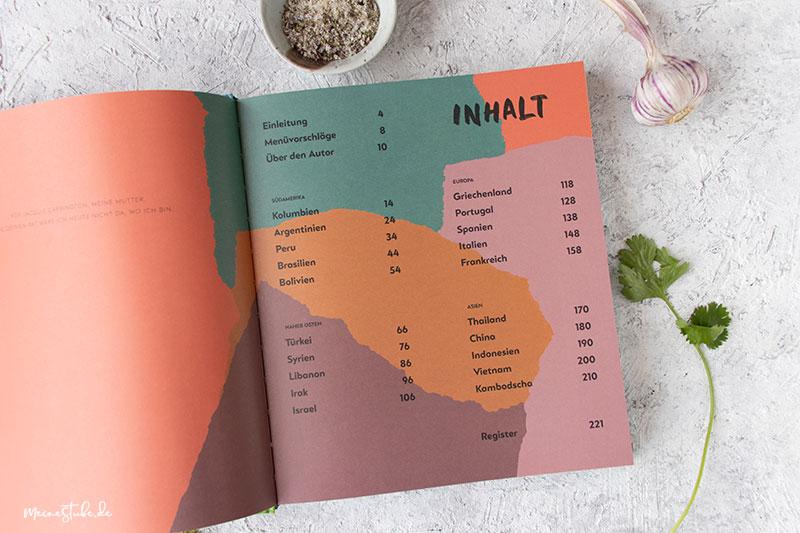 Inhaltsverzeichnis Kochbuch Atlantis Cookbook von Knesebeck, meinestube
