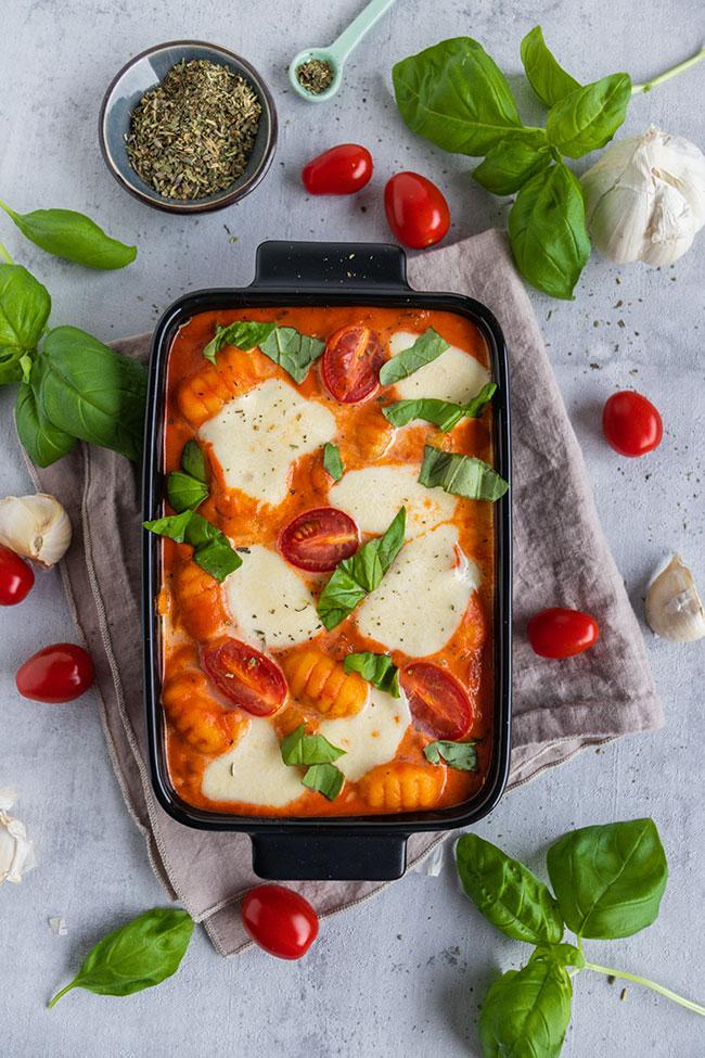 Gnocchi-Gericht als Familienessen von meinestube