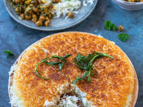 Persischer Reis mit Kichererbsen mit meinestube