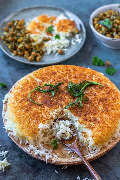 Rezept persischer Reis mit Meinestube
