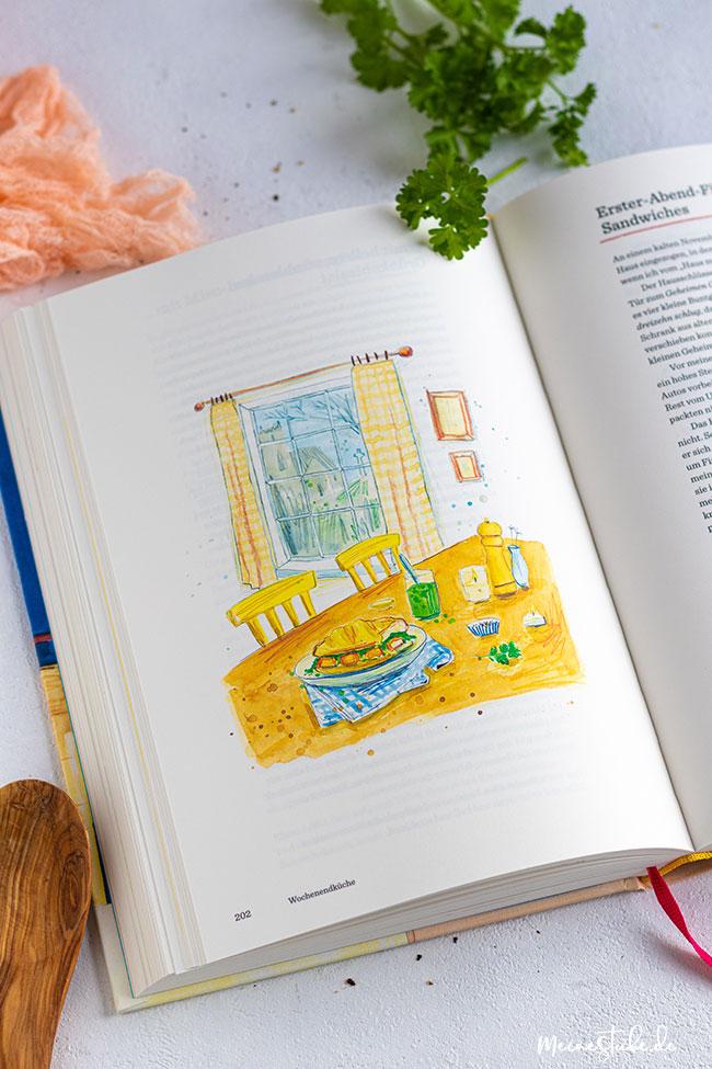 Kochbuch von Ella Risbridger mit Illustrationen, meinestube
