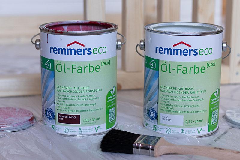 Remmers Eco Farben für Kindermöbel mit meinestube