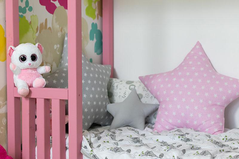 Kinderbett als Bodenbett von meinestube