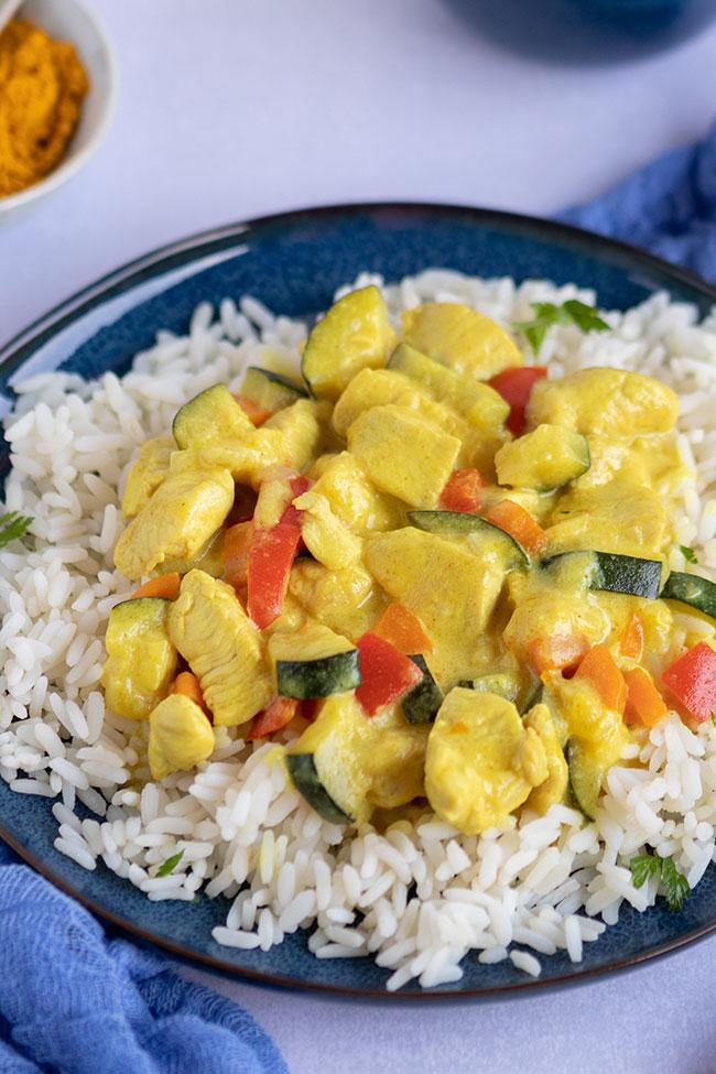 Hähnchen-Curry für Kinder von meinestube