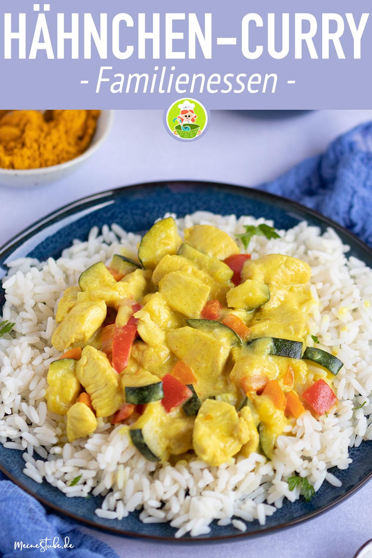 Hähnchen-Curry Rezept, Familienessen von meinestube