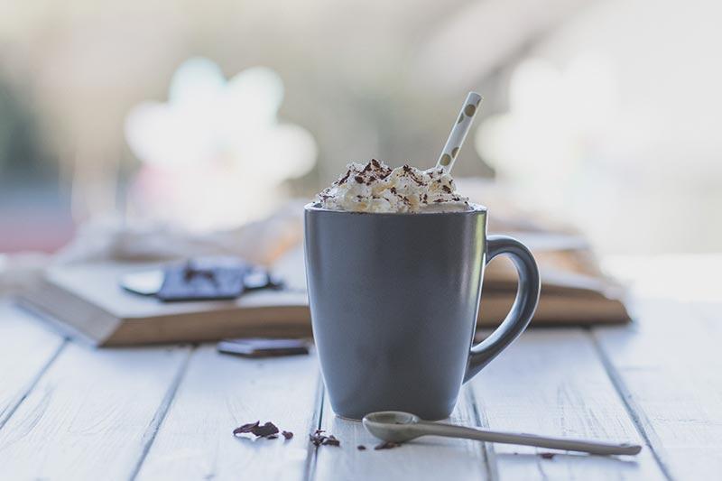 Heiße Schokolade zum Entspannen, meinestube