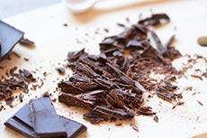 Schokolade hacken, meinestube