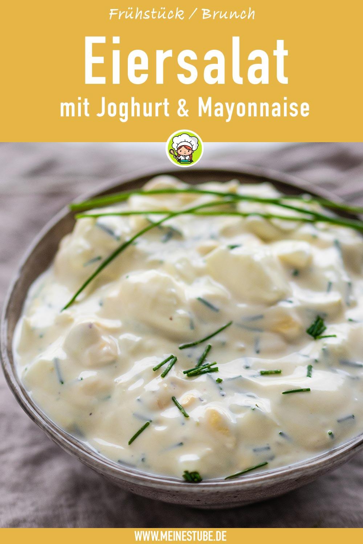 Eiersalat mit Joghurt, meinestube