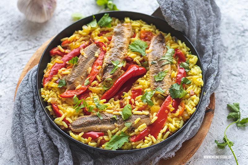 Sardinen-Reis aus dem Kochbuch Algarve, meinestube