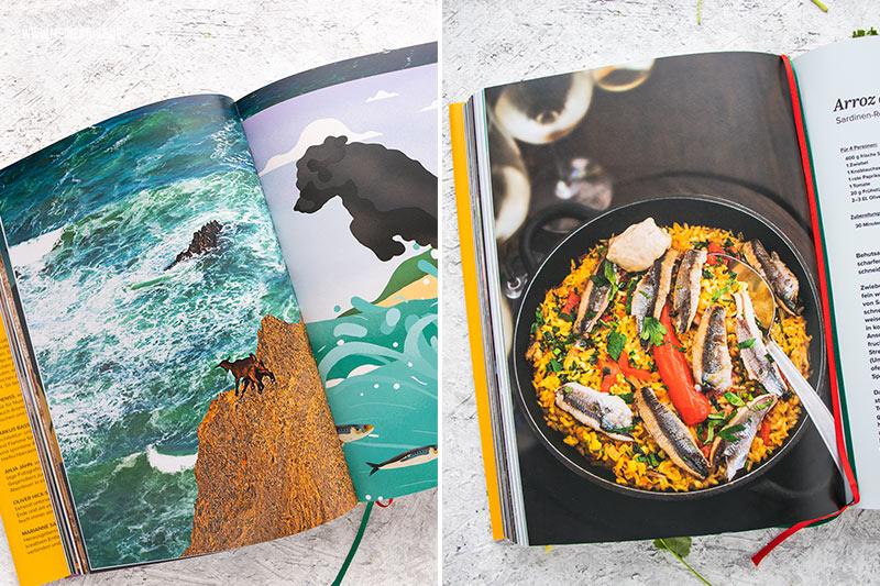Wundschöne Bilder aus dem Kochbuch, meinestube