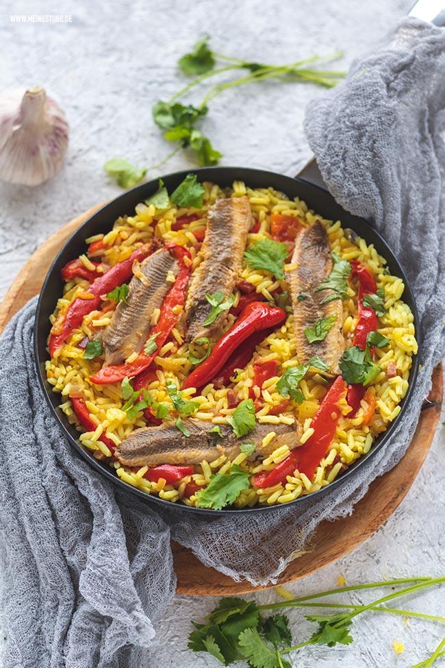 Sardinen-Reis gekocht, meinestube