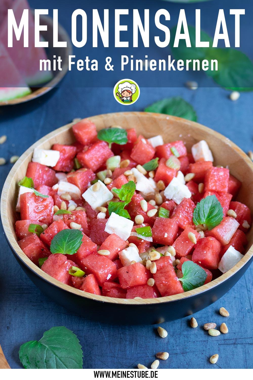 Rezept Melonensalat mit Feta, meinestsube