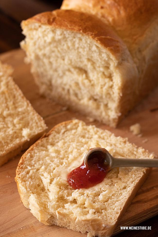 Toast mit Marmelade, meinestube